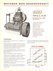 SABB type D 6-12 HK semi-diesel