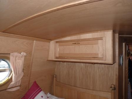 4.11 High level cupboard in oak