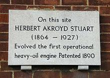 Fenny Stratford, Home of the Heavy Oil Engine
