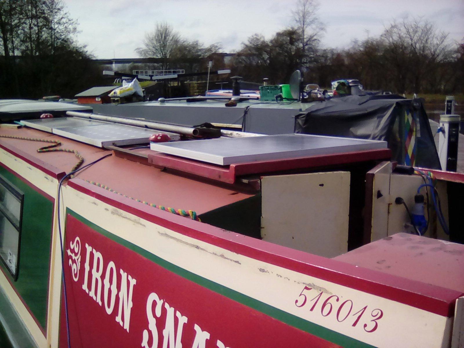 Sliding Hatch Boat Building Maintenance Canal World