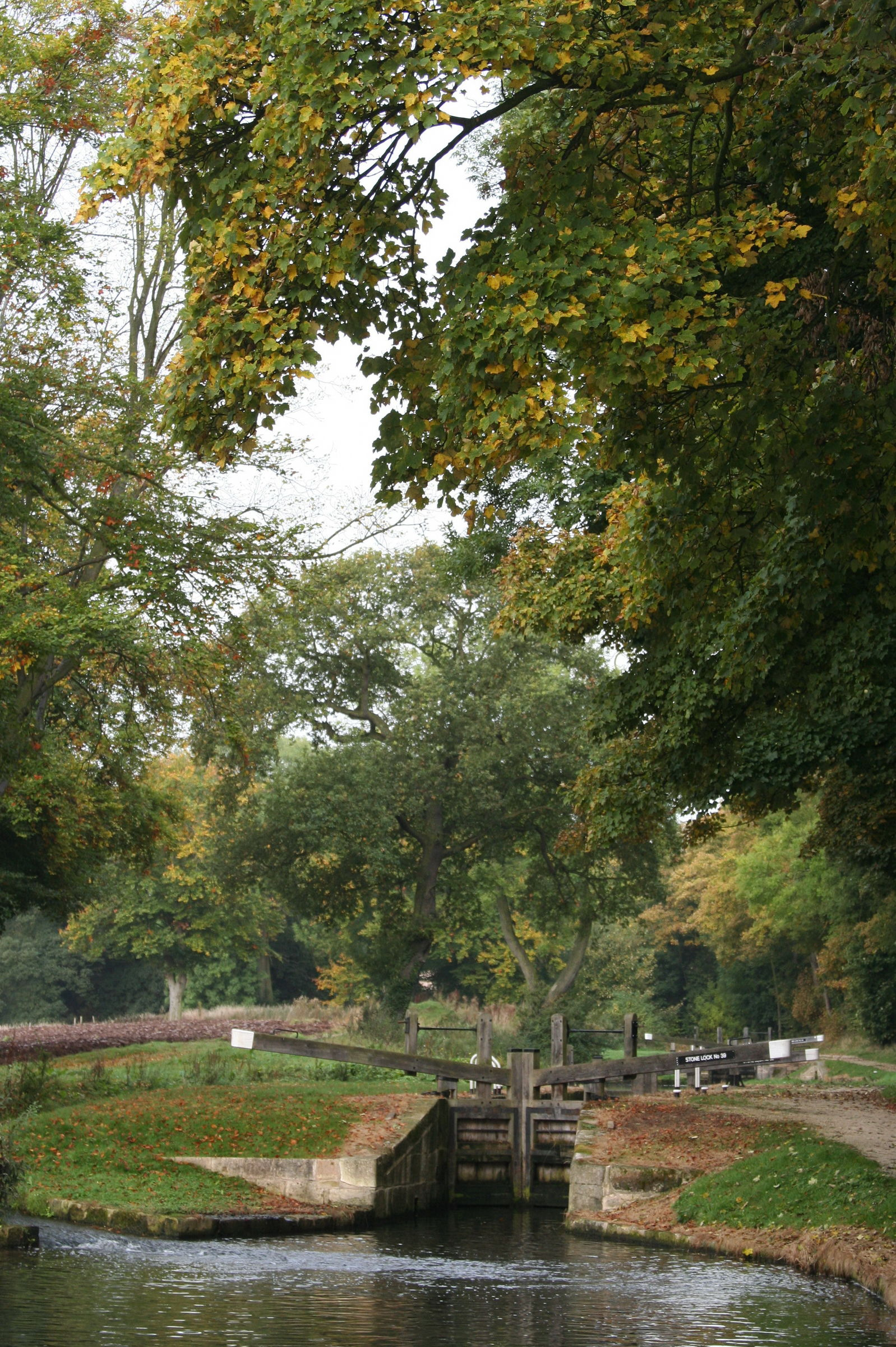 1151 Chesterfield Canal Stoke Lock 18th October 2005.jpg
